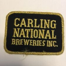 Carling National Breweries Inc. Beer Patch