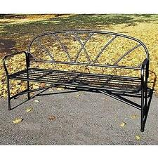 Achla Designs Wrought Iron Lattice Bench