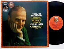 Brahms violin concerto in D MENUHIN Kempe EMI La Voix de Son Maitre France cla91
