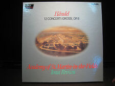 Handel 12 Concerti Grossi, OP. 6  Philips 6769 083- 3 RECORD BOX SET