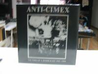 Anti Cimex LP Europe Victims Of A Bomb Raid 1982-84. 2018 Gatefold