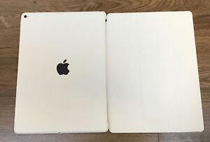 """Genuine Apple iPad Pro 12.9"""" Smart Cover + Case WHITE Gen 1 /2 (2015/17)"""