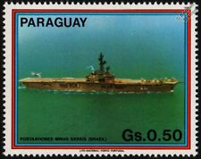 Brazilian Navy MINAS GERAIS (A11) (HMS VENGEANCE) Aircraft Carrier Warship Stamp