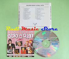 CD GOLDEN ROCK & ROLL HITS compilation BILL HALEY JERRY LEE LEWIS (C22) no mc lp