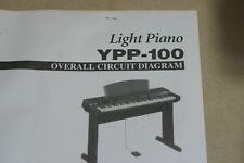 Yamaha YPP-100 Light Piano Overall Circuit Diaagram