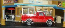 HOT WHEELS Loose Land Rover Series III Pickup (Red Version)