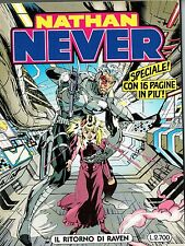 """Nathan Never n. 43 """"il ritorno di Raven"""" ed.Bonelli"""