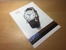 Press Note SPEAKE-MARIN The Calendario Del Serpente White Gold Watch NOT Incluso