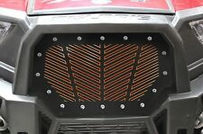 Steel Grill fits Polaris RZR 1000 XP 2015-17 RZR 900 S V STRIPE Orange Underlay