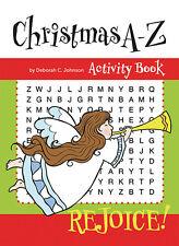 Christmas A - Z  Activity Book Catholic Aquinas Kids (B3002) 32 Pages