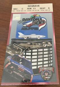 NASCAR 1998 Daytona 500 Ticket Stub Dale Earnhardt 71st Win