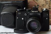 ZENIT-10 Camera USSR Soviet 35mm SLR M42 Lens Helios 44-2 f2/58mm