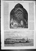 Old Entrance Hall Assize Courts Manchester Custom House Colombo 1864 Victorian