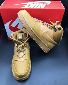 New In Box Nike Path Winter Boots Wheat Black Cinnamon BQ4223-700 Men's Size 9.5