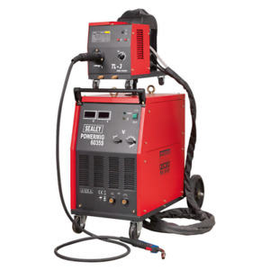 Professional MIG Welder 350A 415V 3ph with Binzel® Euro Torch & Portable Wire Dr