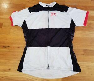 Twinsix Cycling Shirt Jersey Masher Full Zip Short Sleeve Large nice