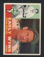 1960 Topps #1 Early Wynn EX/EX+ White Sox 123012