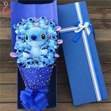 Bunch of 11 Crown Stitch Plush Dolls Toys flowers Valentine Creative Gift Box