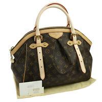 Authentic LOUIS VUITTON Tivoli GM Hand Bag Monogram M40144 GHW UNUSED JT05913