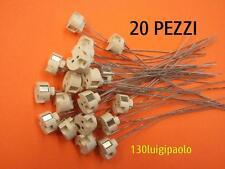 20 PORTALAMPADA IN PLASTICA GU5.3 MR16 G4 12V