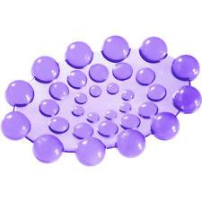 Porta sapone Spot da appoggio in PVC colore Lilla