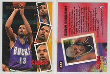 NBA FLEER 1995-1996 SERIES 2 - Glenn Robinson, Bucks # 444 - Mint
