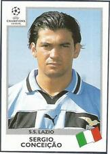 PANINI UEFA CHAMPIONS LEAGUE 1999-00- #008-LAZIO-SERGIO CONCEICAO