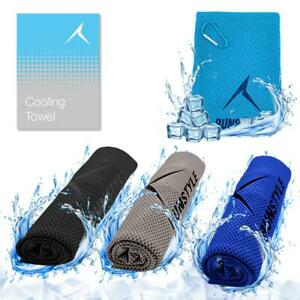 For Sports Gym Fitness Running Cycling ICE Cold Towel Cools Instantly When Wet