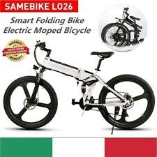 26 Samebike LO26 Mountain bike pieghevole BICI E Bicicletta elettrica 350W IT