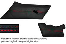 RED STITCHING DASH TRIM LEATHER SKIN COVER FITS LOTUS ESPRIT