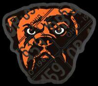 Cleveland Browns Magnet Dawg Pound Custom Vinyl NFL Ohio Magnet