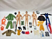 Vintage Scar Face 1964 & 1992 GI Joe & 1966 Captain Action Figures & Accessories