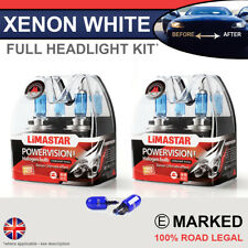 3 Series E46 98-05 Xenon White Upgrade Kit Headlight Dipped High Bulbs 6000k