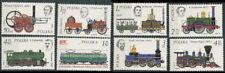 Poland stamps MNH (Mi. 2427-34) Locomotives