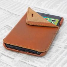 OPIS MOBILE 7/8 GARDE BOOK (Cognac): iPhone 7&8 Flip-Case Lederhülle