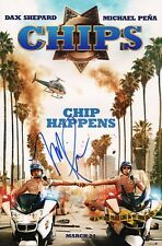 """~~ MICHAEL PENA Authentic Hand-Signed """"Ponch - CHIPS"""" 11x17 Photo ~~"""