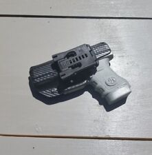 Concealment Black Carbon Fiber holster OWB right  Fits Glock 48