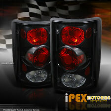 Black Ford Excursion / Econoline Van E150/E250/E350/E450 Tail Light Brake Lamps