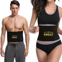 SWEAT Premium Waist Trimmer Belt for Men & Women Shaper Weight Loss Sport Wrap