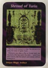 ILLUMINATI NEW WORLD ORDER CARD GAME TCG -SHROUD OF TURIN NEAR MINT TO MINT