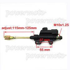 Pit Dirt Bike Rear Brake Master Cylinder Pump For 110cc 125cc 140cc CRF KLX TTR
