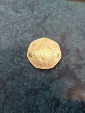 NHS 50p coin 1998 rare coin low mintage