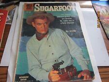 SUGARFOOT Warner Bors Will Hutchins Western RARE Comic BOOK 1960 Vintage