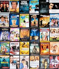 Lots of 50 Used ASSORTED DVD Movies 50-Bulk DVDs Used DVDs Lot Wholesale Lots