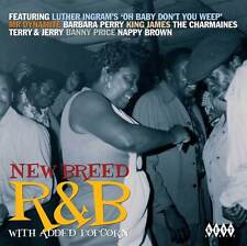 NEW BREED R&B WITH ADDED POPCORN - VARIOUS ARTISTS - CDKEN 291