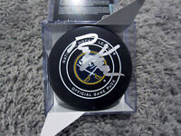 RALPH KRUEGER Buffalo Sabres SIGNED Autograph Official Game Hockey Puck COA