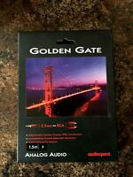 *AUDIOQUEST GOLDEN GATE 1.5m (4.92 ft.) 3.5mm to RCA AUDIO INTERCONNECT CABLE!*