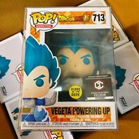 Funko POP! Vegeta Powering Up #713 Chalice Exclusive Glow in the Dark Vinyl