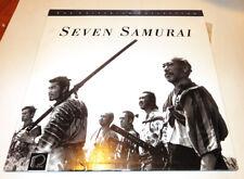 Seven Samurai Criterion Collection 2 Laserdisc