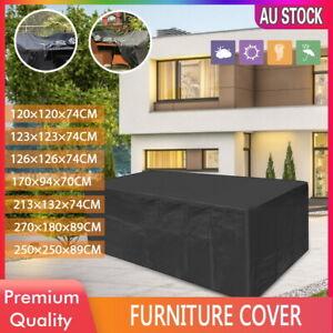 IN/Outdoor Furniture Cover Garden Patio Rain UV Table Protector Sofa Waterproof